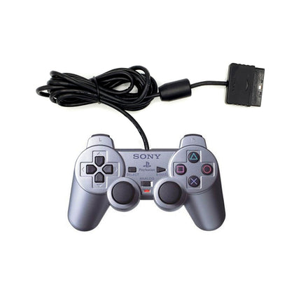 Sony PlayStation 2 DualShock 2 Analog Controller - Satin Silver