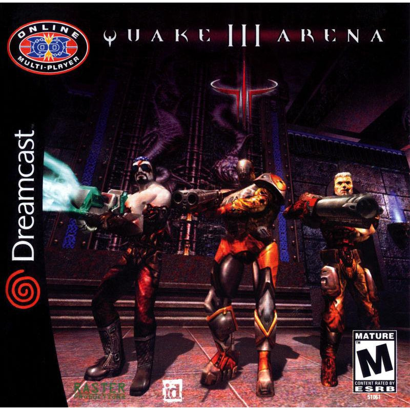 Quake III: Arena - Sega Dreamcast Game