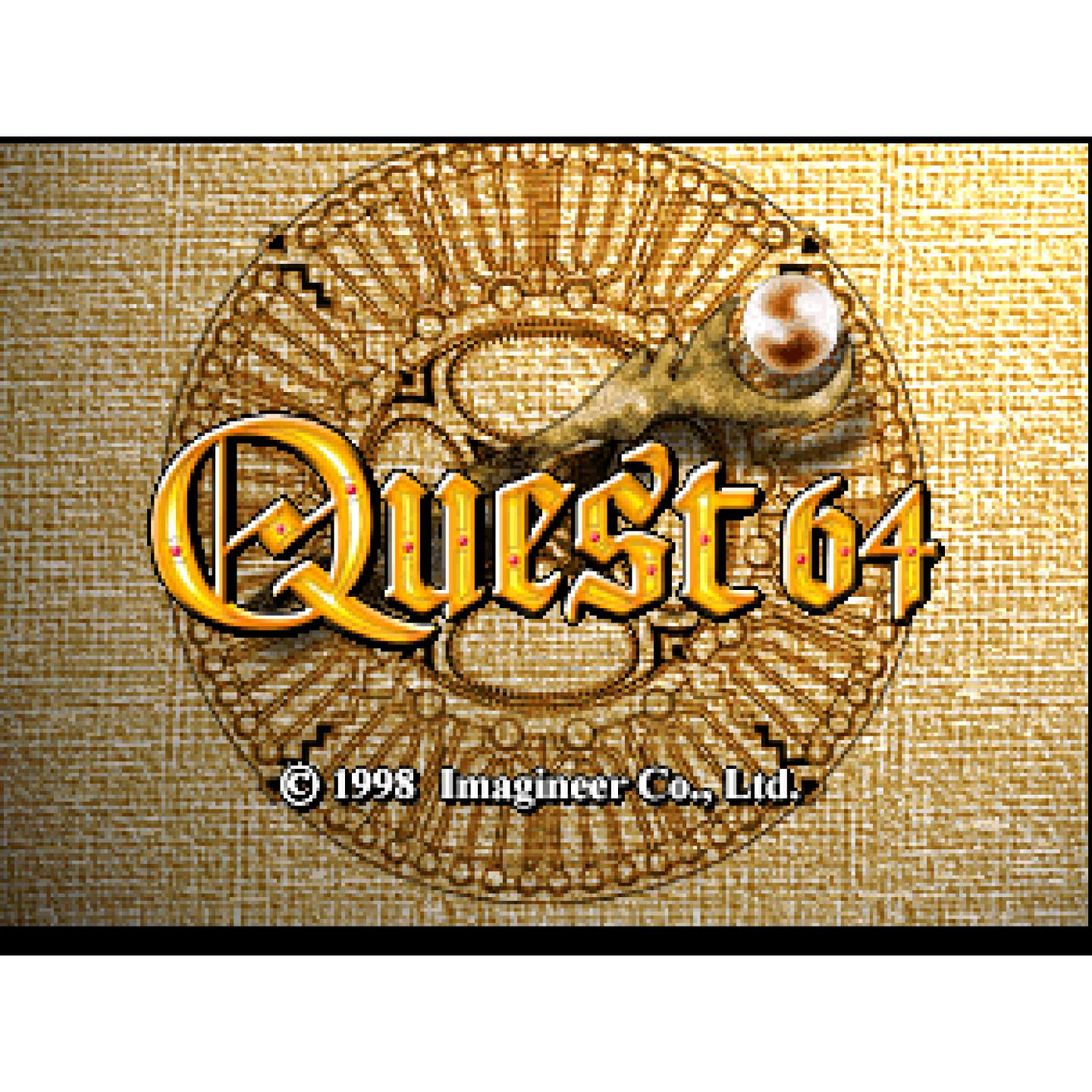 Quest 64 - Authentic Nintendo 64 (N64) Game Cartridge - YourGamingShop.com - Buy, Sell, Trade Video Games Online. 120 Day Warranty. Satisfaction Guaranteed.
