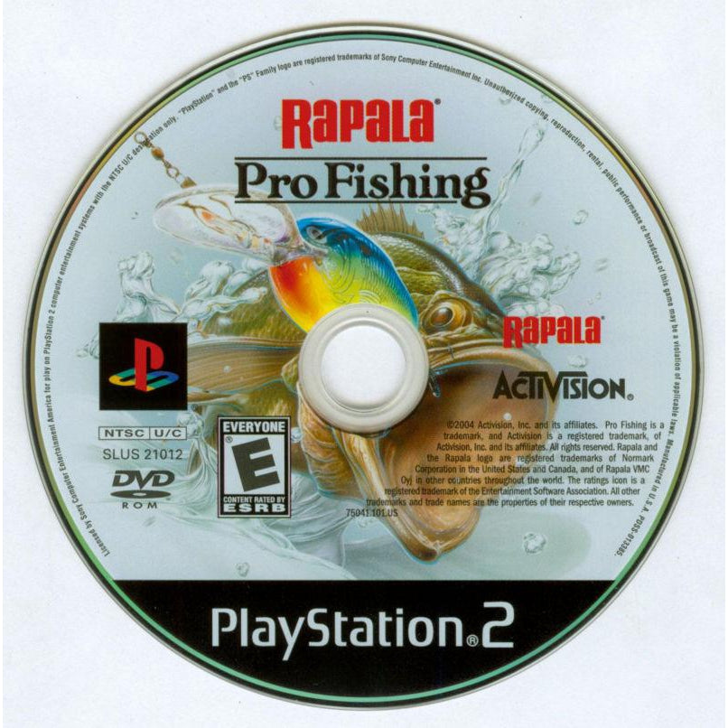 Rapala Pro Fishing - PlayStation 2 (PS2) Game Complete - YourGamingShop.com - Buy, Sell, Trade Video Games Online. 120 Day Warranty. Satisfaction Guaranteed.