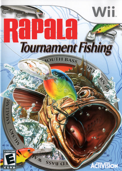 Rapala Tournament Fishing - Nintendo Wii Game