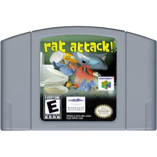 Rat Attack! - Authentic Nintendo 64 (N64) Game Cartridge - YourGamingShop.com - Buy, Sell, Trade Video Games Online. 120 Day Warranty. Satisfaction Guaranteed.
