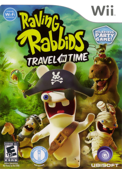 Raving Rabbids: Travel in Time - Nintendo Wii Game