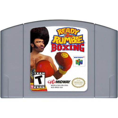 Ready 2 Rumble Boxing - Authentic Nintendo 64 (N64) Game Cartridge - YourGamingShop.com - Buy, Sell, Trade Video Games Online. 120 Day Warranty. Satisfaction Guaranteed.