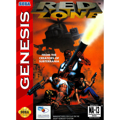 Red Zone - Sega Genesis Game