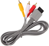 RCA AV Composite Cable for Nintendo Wii