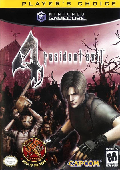 Resident Evil 4 (Player's Choice) - Nintendo GameCube Game