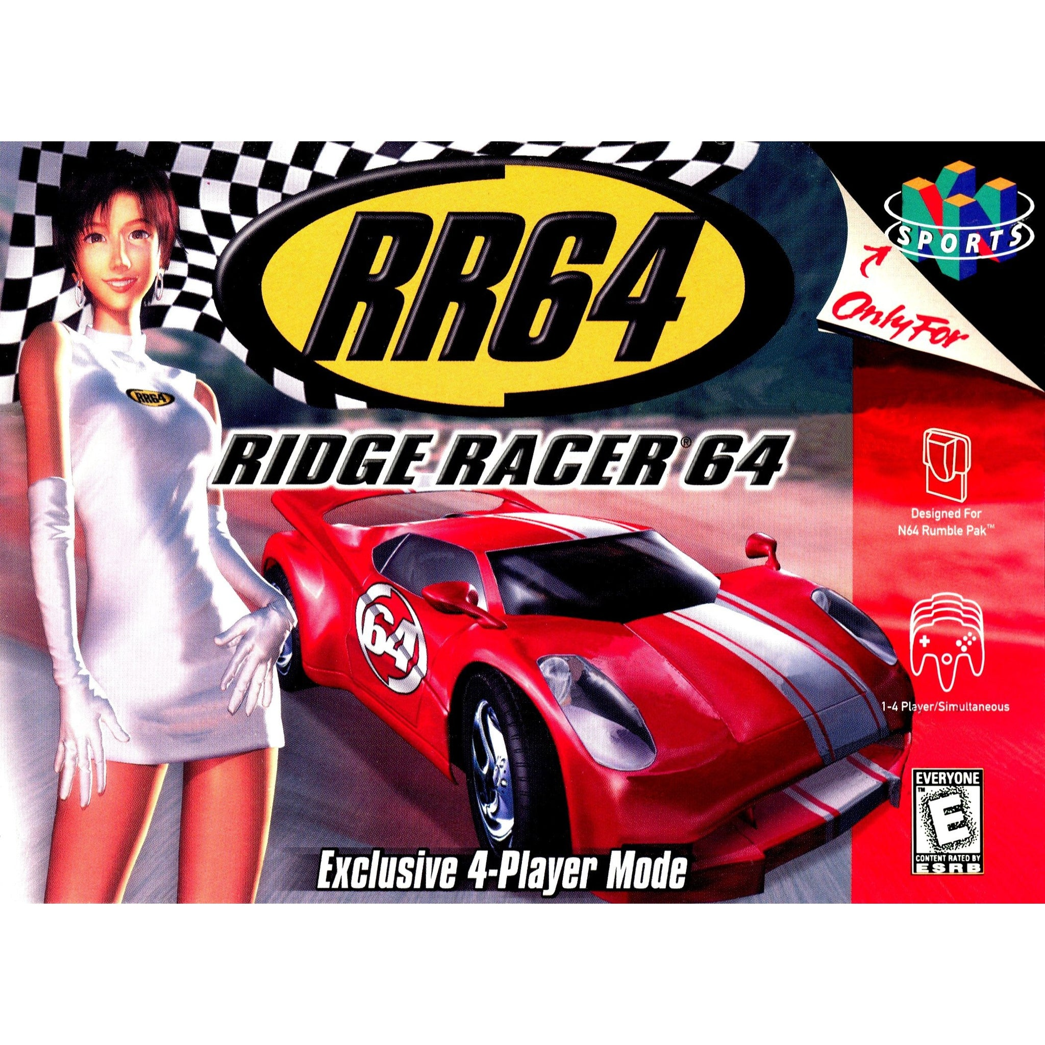 Ridge Racer 64 - Authentic Nintendo 64 (N64) Game Cartridge - YourGamingShop.com - Buy, Sell, Trade Video Games Online. 120 Day Warranty. Satisfaction Guaranteed.