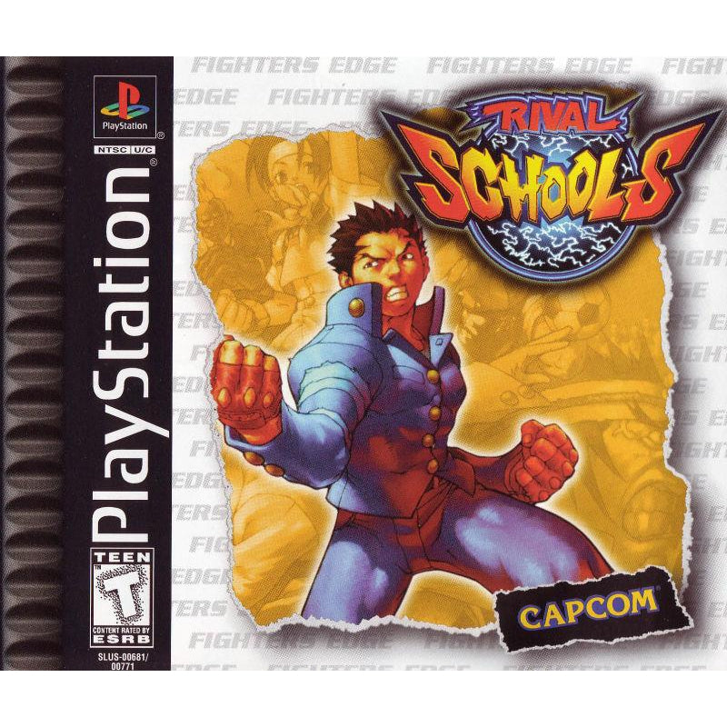 Rival Schools - PlayStation 1 (PS1) Game Complete - YourGamingShop.com - Buy, Sell, Trade Video Games Online. 120 Day Warranty. Satisfaction Guaranteed.