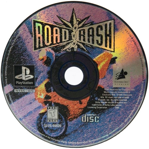 Road Rash - PlayStation 1 (PS1) Game Complete - YourGamingShop.com - Buy, Sell, Trade Video Games Online. 120 Day Warranty. Satisfaction Guaranteed.