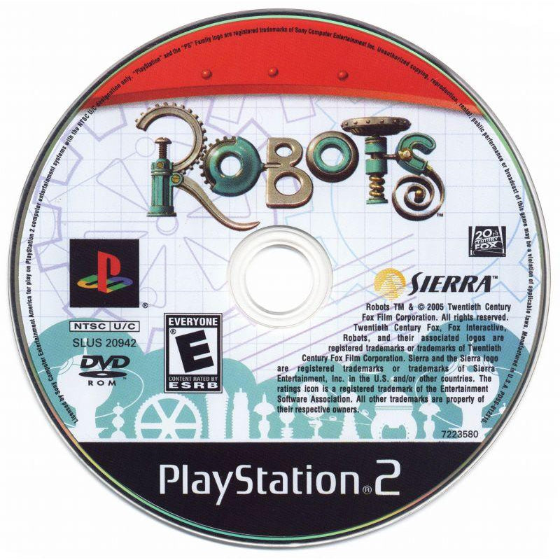 Robots - PlayStation 2 (PS2) Game Complete - YourGamingShop.com - Buy, Sell, Trade Video Games Online. 120 Day Warranty. Satisfaction Guaranteed.