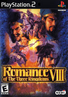 Romance of the Three Kingdoms VIII - PlayStation 2 (PS2) Game