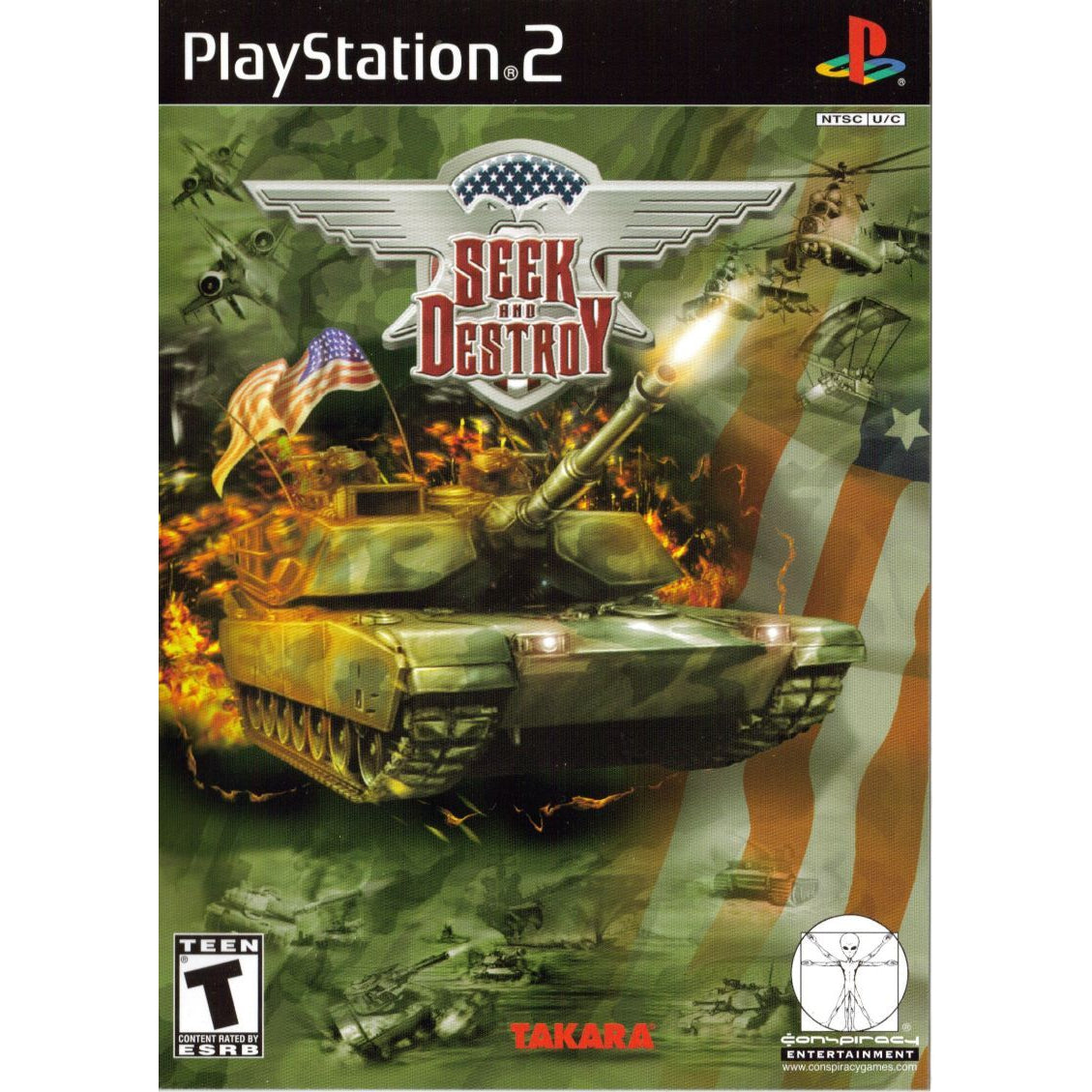 Seek and Destroy - PlayStation 2 (PS2) Game Complete - YourGamingShop.com - Buy, Sell, Trade Video Games Online. 120 Day Warranty. Satisfaction Guaranteed.