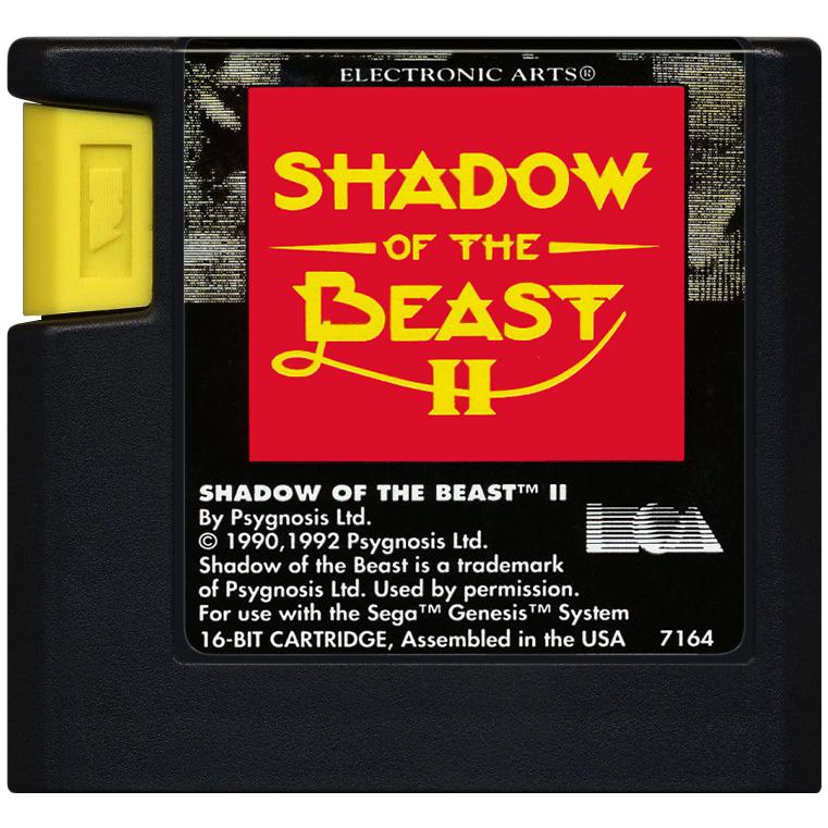 Shadow of the Beast II - Sega Genesis Game Complete - YourGamingShop.com - Buy, Sell, Trade Video Games Online. 120 Day Warranty. Satisfaction Guaranteed.