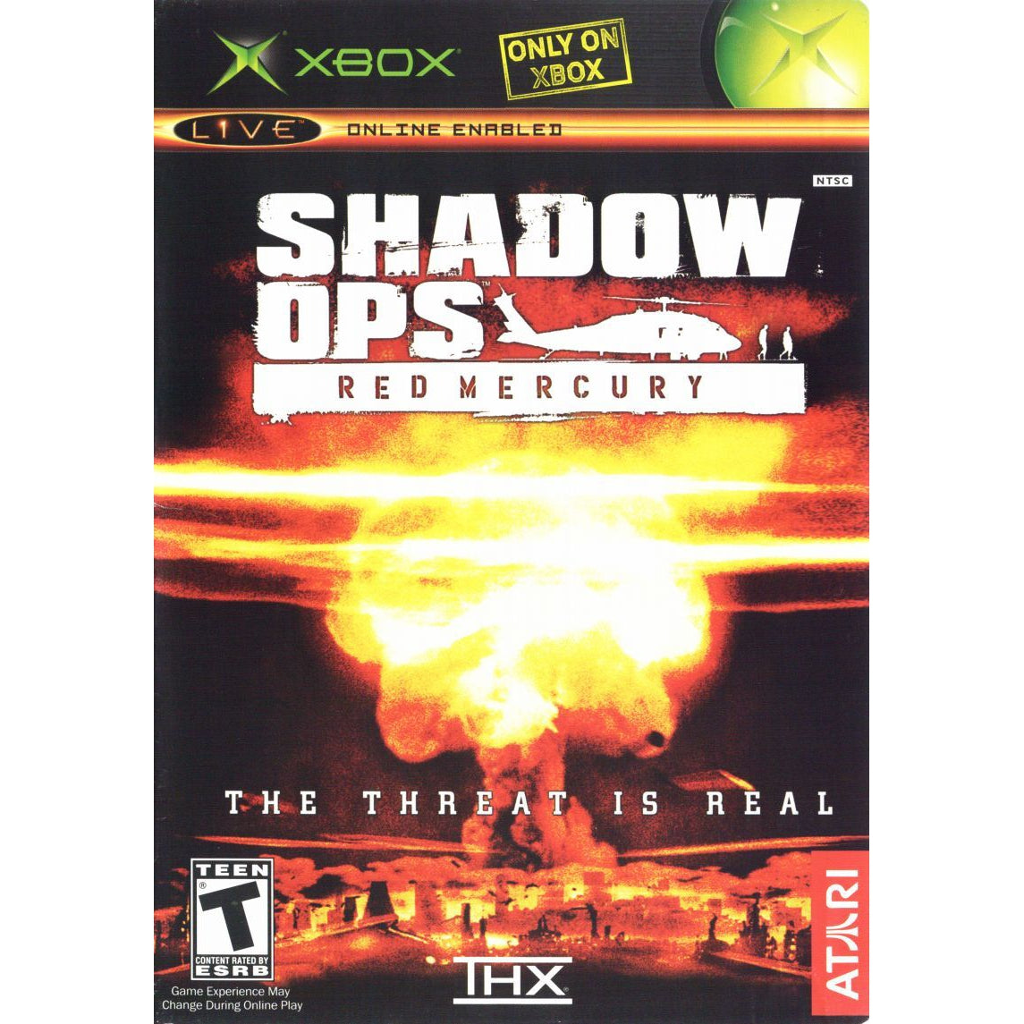 Shadow Ops: Red Mercury - Microsoft Xbox Game Complete - YourGamingShop.com - Buy, Sell, Trade Video Games Online. 120 Day Warranty. Satisfaction Guaranteed.