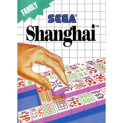 Shanghai - Sega Master System Game Complete - YourGamingShop.com - Buy, Sell, Trade Video Games Online. 120 Day Warranty. Satisfaction Guaranteed.