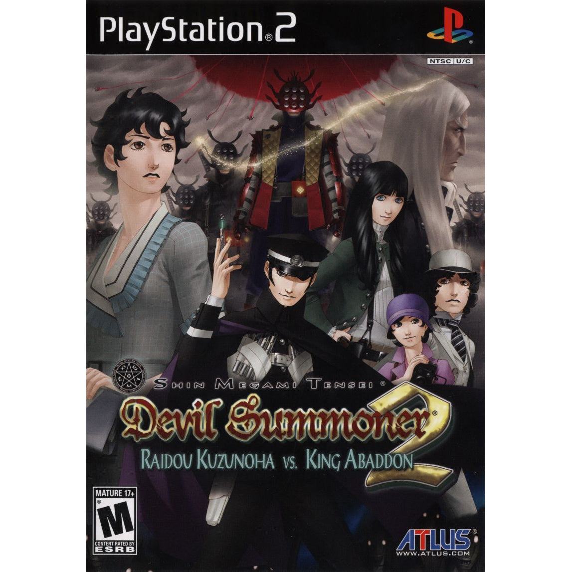 Shin Megami Tensei: Devil Summoner 2 - Raidou Kuzunoha vs. King Abaddon - PlayStation 2 (PS2) Game Complete - YourGamingShop.com - Buy, Sell, Trade Video Games Online. 120 Day Warranty. Satisfaction Guaranteed.
