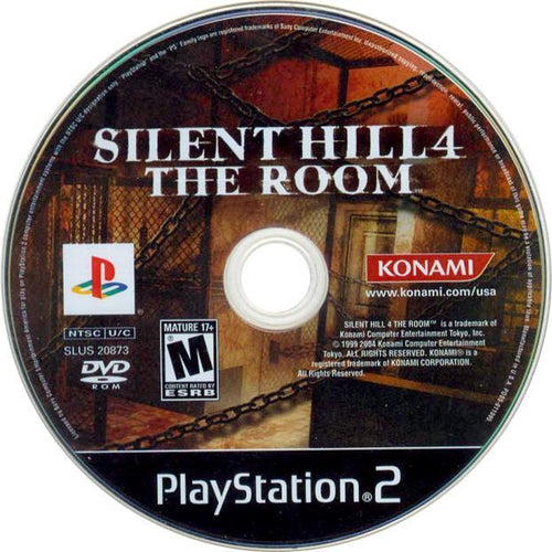Silent Hill 4: The Room - PlayStation 2 (PS2) Game Complete - YourGamingShop.com - Buy, Sell, Trade Video Games Online. 120 Day Warranty. Satisfaction Guaranteed.