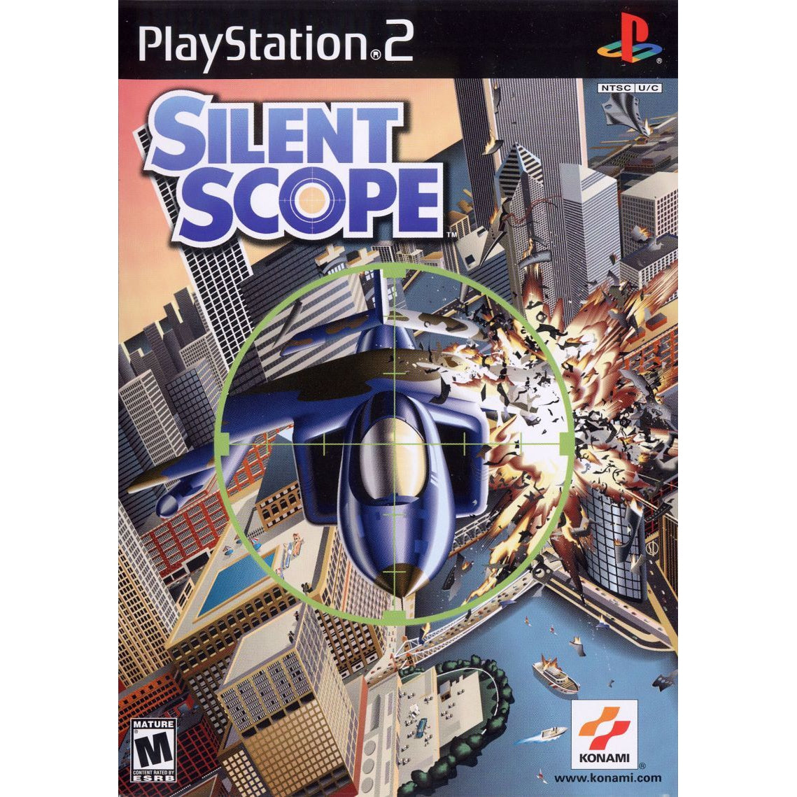 Silent Scope - PlayStation 2 (PS2) Game Complete - YourGamingShop.com - Buy, Sell, Trade Video Games Online. 120 Day Warranty. Satisfaction Guaranteed.