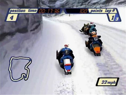 Sled Storm - PlayStation 1 (PS1) Game