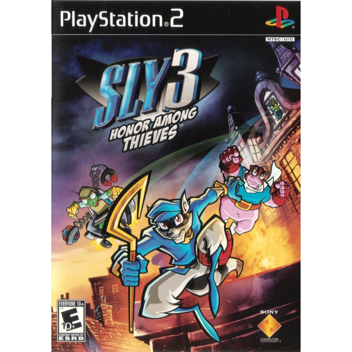 Sly 3: Honor Among Thieves - PlayStation 2 (PS2) Game Complete - YourGamingShop.com - Buy, Sell, Trade Video Games Online. 120 Day Warranty. Satisfaction Guaranteed.
