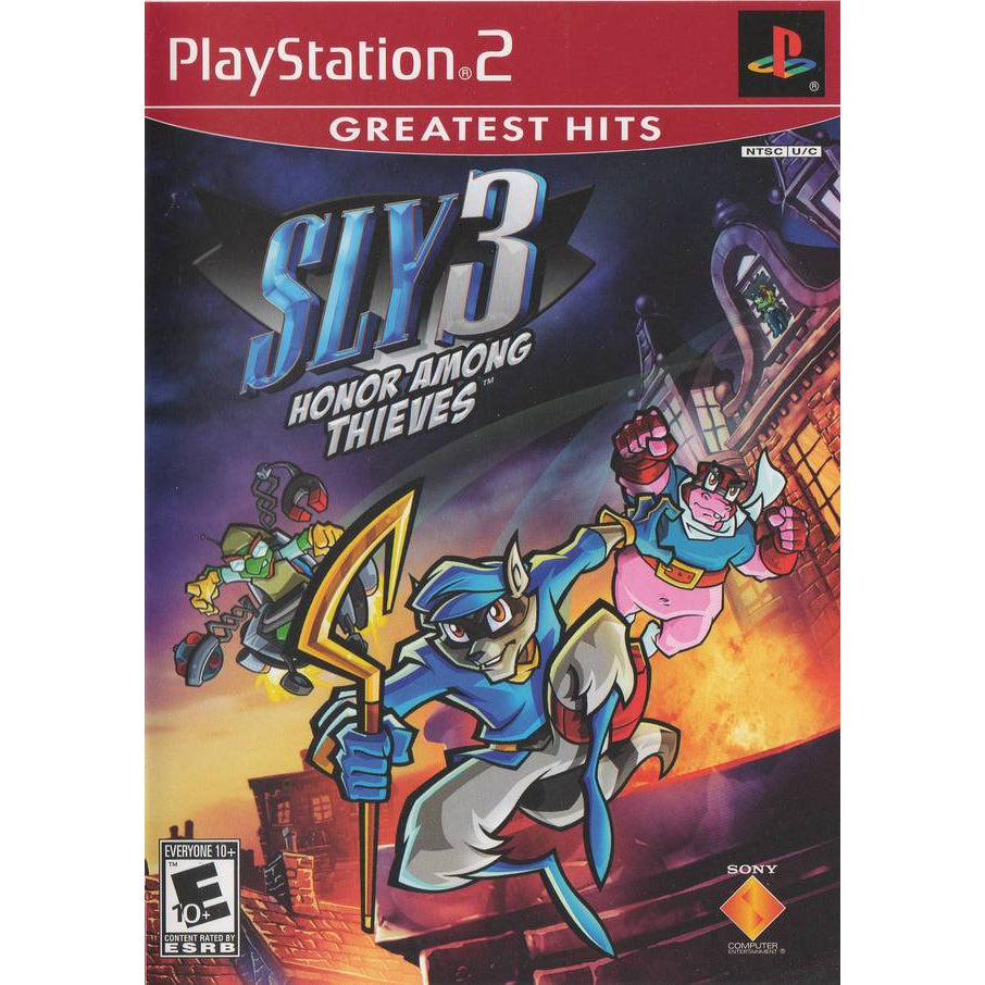 Sly 3: Honor Among Thieves (Greatest Hits) - PlayStation 2 (PS2) Game Complete - YourGamingShop.com - Buy, Sell, Trade Video Games Online. 120 Day Warranty. Satisfaction Guaranteed.