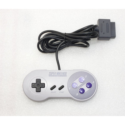 Super Nintendo Entertainment System (SNES) Official Controller - YourGamingShop.com - Buy, Sell, Trade Video Games Online. 120 Day Warranty. Satisfaction Guaranteed.