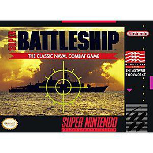 Super Battleship - Super Nintendo (SNES) Game - YourGamingShop.com - Buy, Sell, Trade Video Games Online. 120 Day Warranty. Satisfaction Guaranteed.