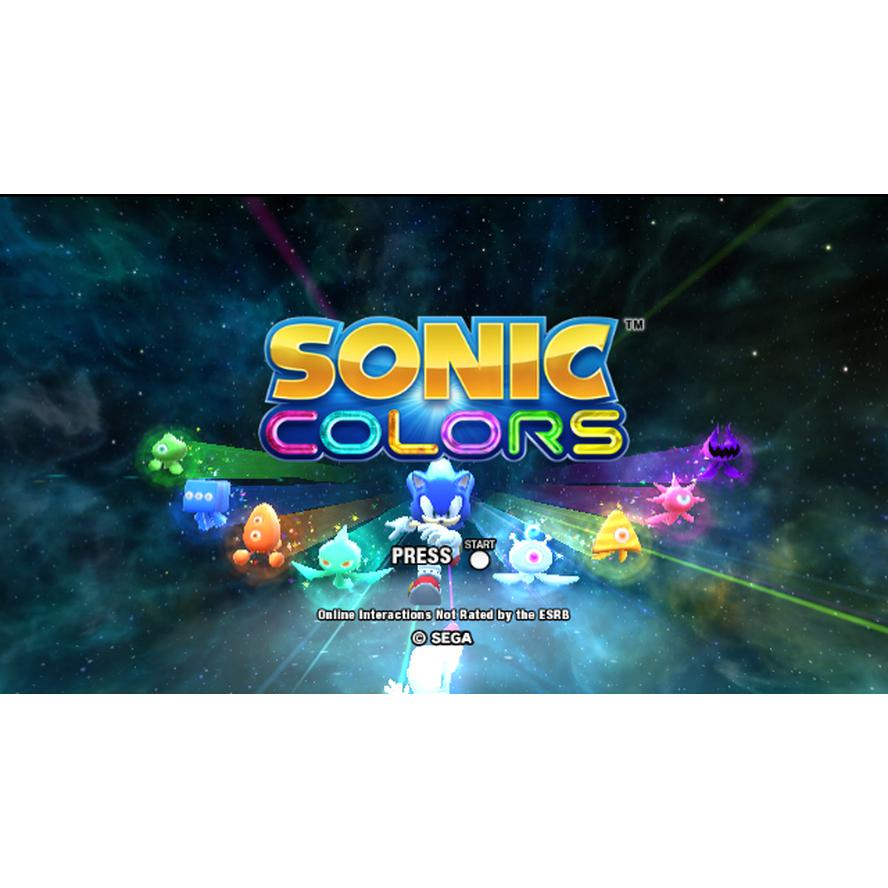 Sonic Colors - Wii Game Complete - YourGamingShop.com - Buy, Sell, Trade Video Games Online. 120 Day Warranty. Satisfaction Guaranteed.