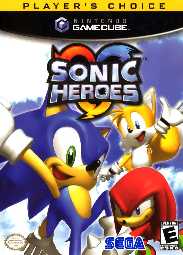 Sonic Heroes (Player's Choice) - Nintendo GameCube Game