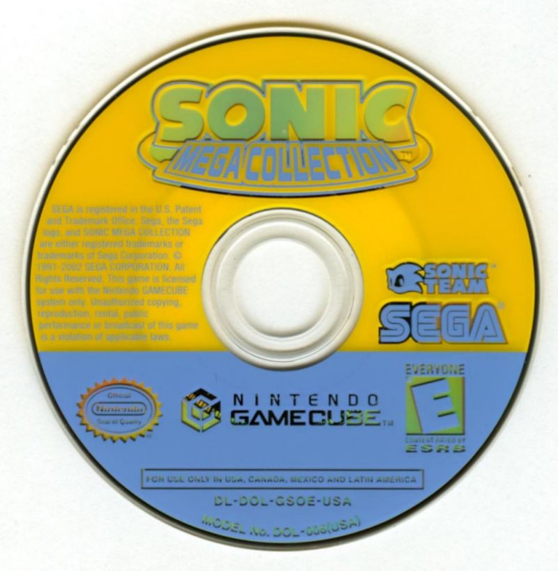 Your Gaming Shop - Sonic Mega Collection - GameCube Game