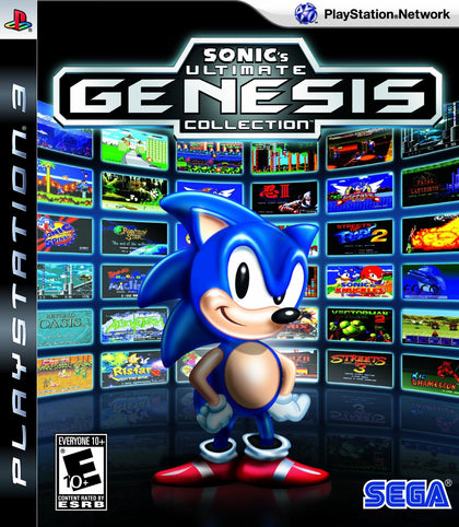 Sonic's Ultimate Genesis Collection - PlayStation 3 (PS3) Game