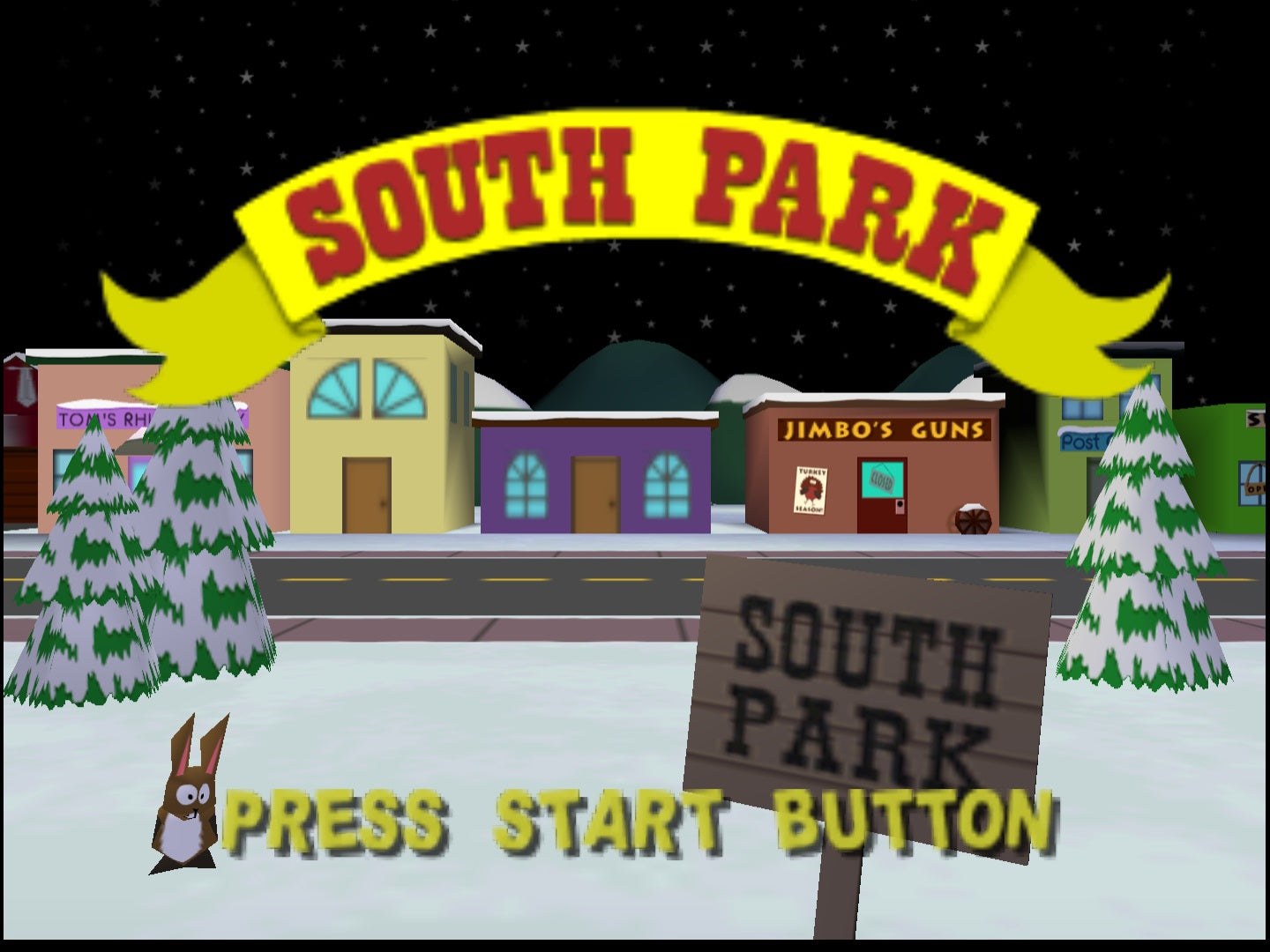 South Park - Authentic Nintendo 64 (N64) Game Cartridge