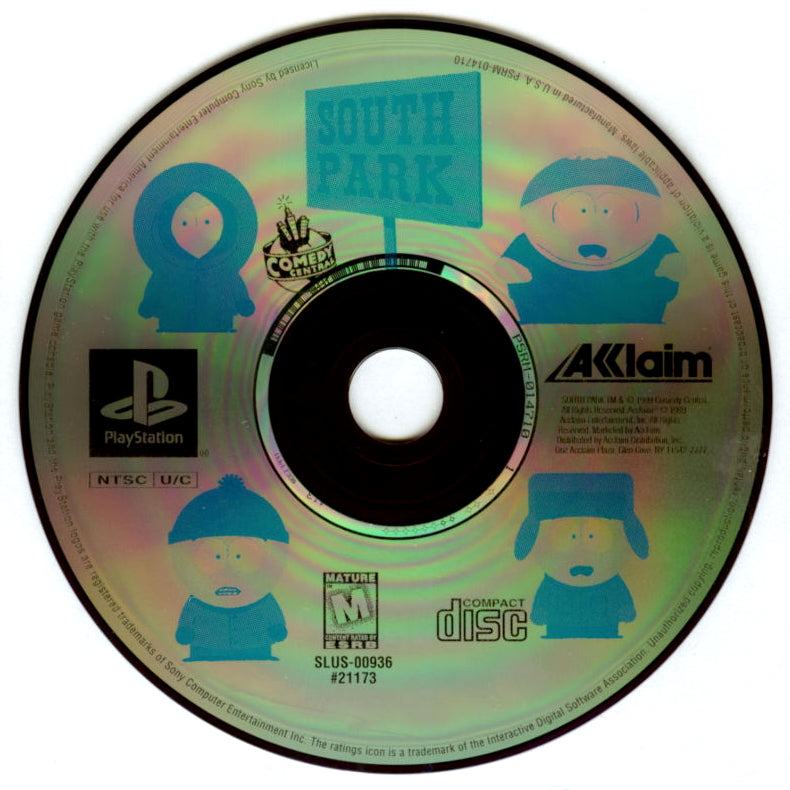 South Park - PlayStation 1 (PS1) Game