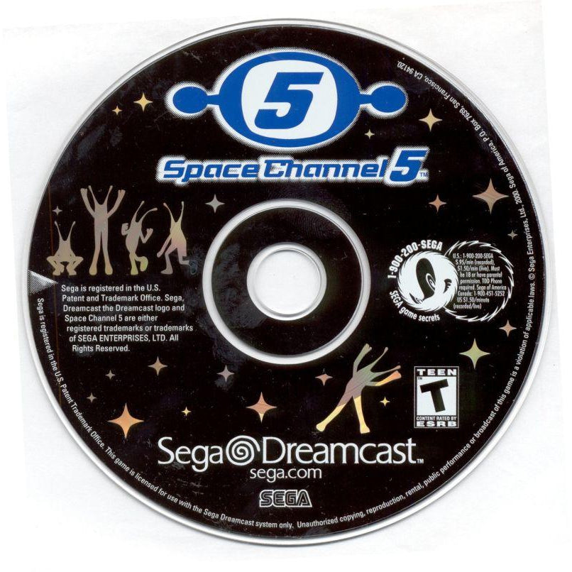 Space Channel 5 - Sega Dreamcast Game Complete - YourGamingShop.com - Buy, Sell, Trade Video Games Online. 120 Day Warranty. Satisfaction Guaranteed.
