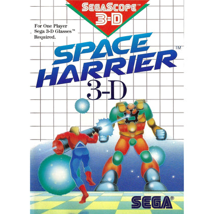 Space Harrier 3-D - Sega Master System Game Complete - YourGamingShop.com - Buy, Sell, Trade Video Games Online. 120 Day Warranty. Satisfaction Guaranteed.