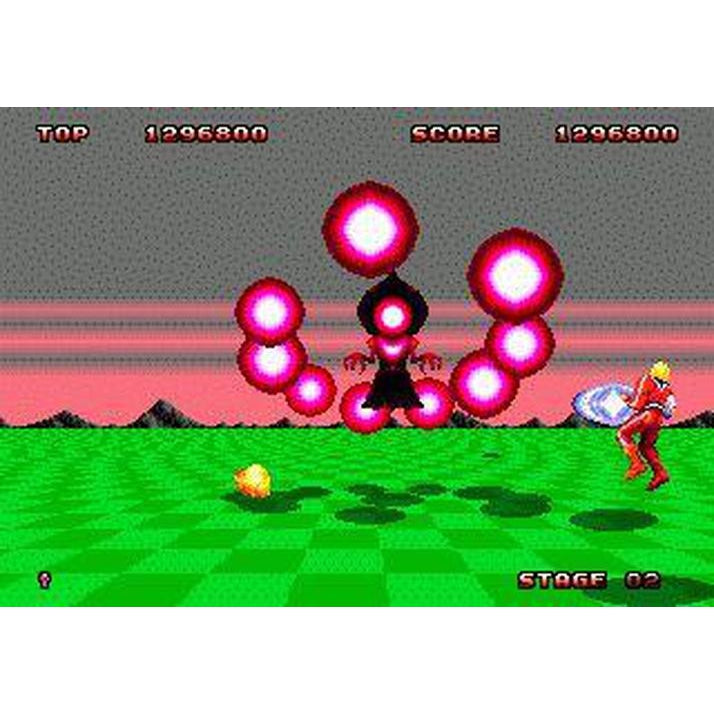 Space Harrier II - Sega Genesis Game Complete - YourGamingShop.com - Buy, Sell, Trade Video Games Online. 120 Day Warranty. Satisfaction Guaranteed.