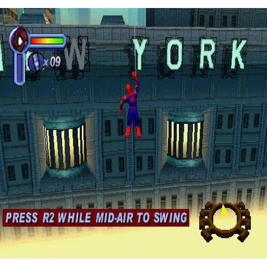 Spider-Man - PlayStation 1 (PS1) Game Complete - YourGamingShop.com - Buy, Sell, Trade Video Games Online. 120 Day Warranty. Satisfaction Guaranteed.