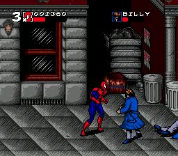 Spider-Man and Venom: Maximum Carnage (Black Cart) - Sega Genesis Game