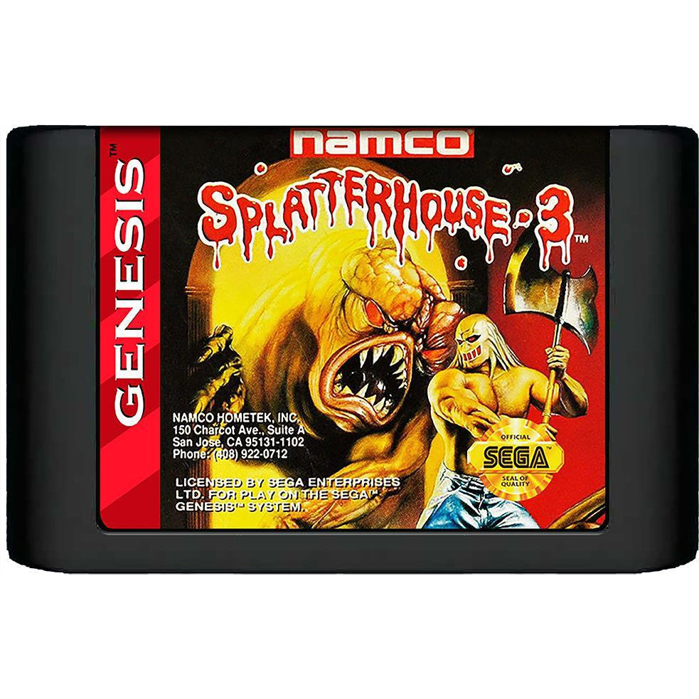 Splatterhouse 3 - Sega Genesis Game Complete - YourGamingShop.com - Buy, Sell, Trade Video Games Online. 120 Day Warranty. Satisfaction Guaranteed.