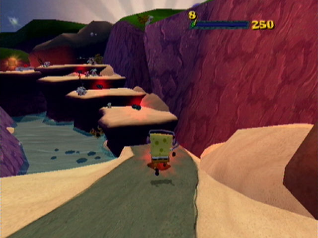 SpongeBob SquarePants: The Movie - PlayStation 2 (PS2) Game