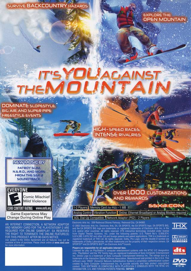 SSX 3 - PlayStation 2 (PS2) Game