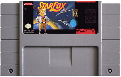 Star Fox - Super Nintendo (SNES) Game Complete