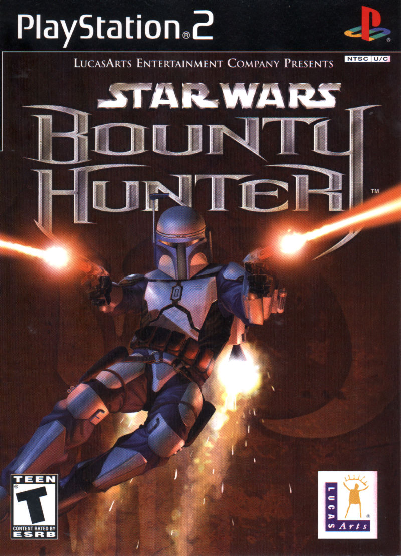 Star Wars: Bounty Hunter - PlayStation 2 (PS2) Game Complete - YourGamingShop.com - Buy, Sell, Trade Video Games Online. 120 Day Warranty. Satisfaction Guaranteed.