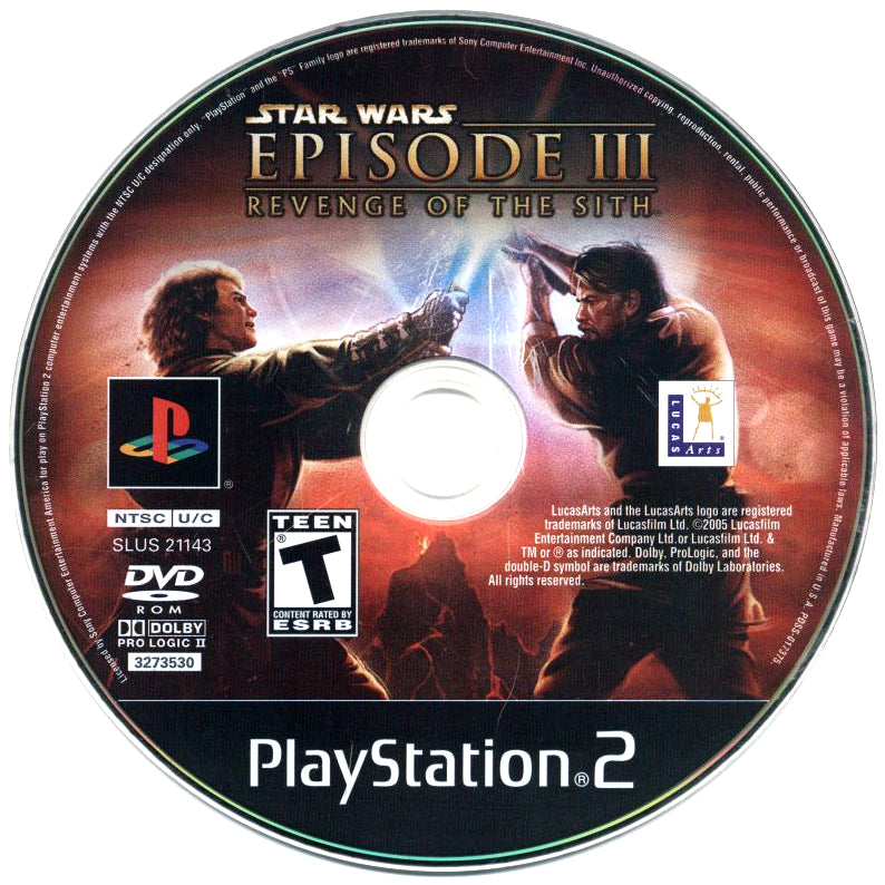 Your Gaming Shop - Star Wars: Episode III - Revenge of the Sith - PlayStation 2 (PS2) Game