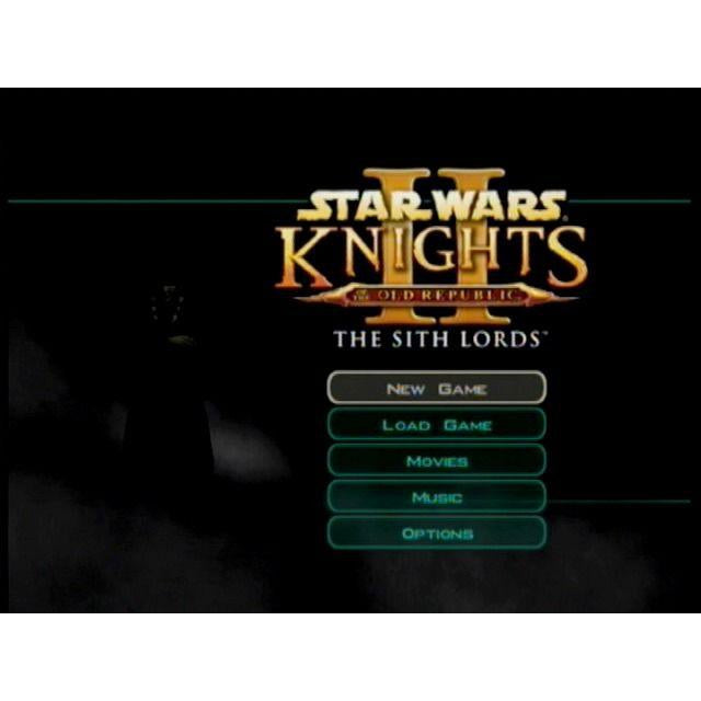 Star Wars: Knights of the Old Republic II: The Sith Lords - Microsoft Xbox Game Complete - YourGamingShop.com - Buy, Sell, Trade Video Games Online. 120 Day Warranty. Satisfaction Guaranteed.