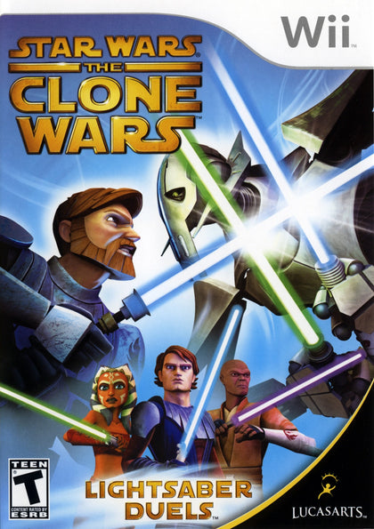 Star Wars: The Clone Wars: Lightsaber Duels - Nintendo Wii Game