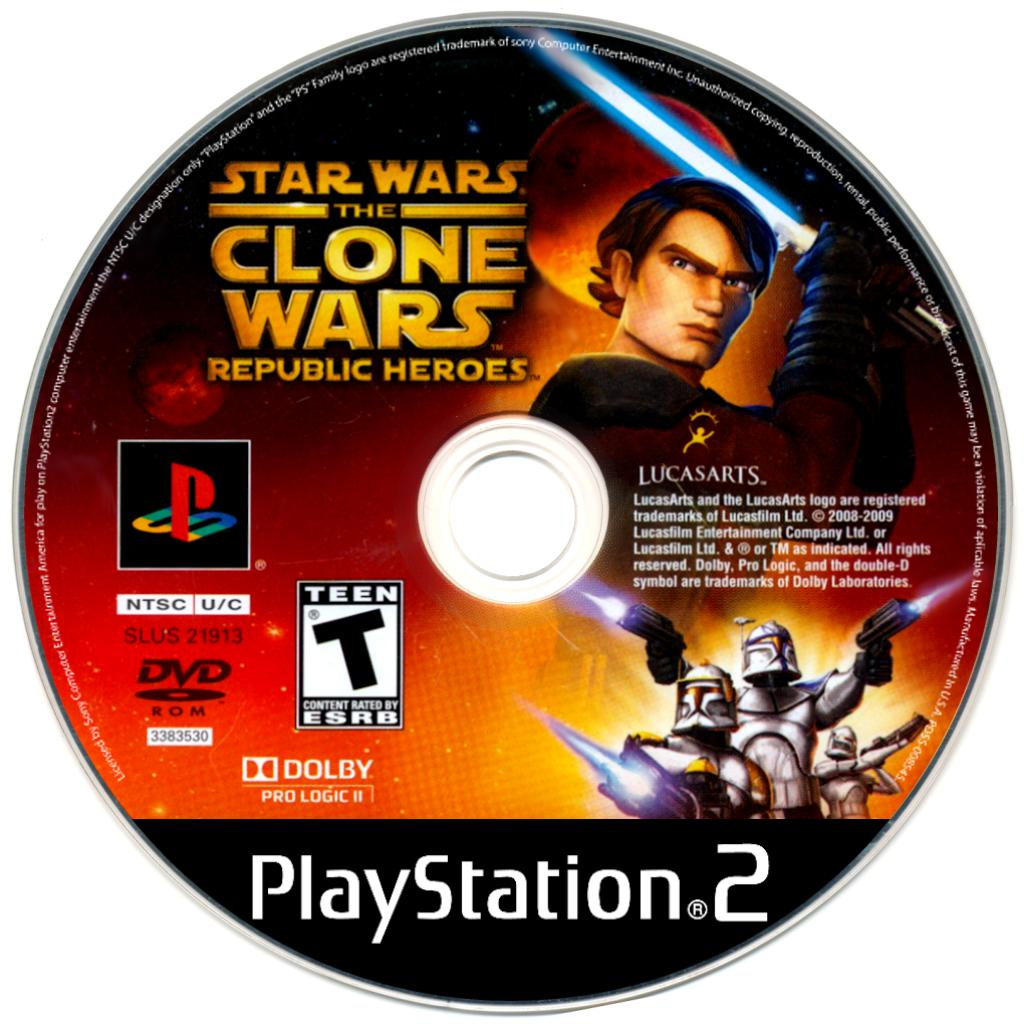 Star Wars: The Clone Wars: Republic Heroes - PlayStation 2 (PS2) Game