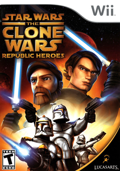 Star Wars: The Clone Wars: Republic Heroes - Nintendo Wii Game