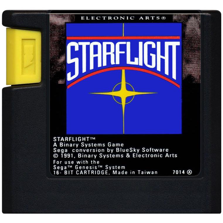 Starflight - Sega Genesis Game Complete - YourGamingShop.com - Buy, Sell, Trade Video Games Online. 120 Day Warranty. Satisfaction Guaranteed.